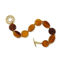 Amber Rounds Bracelet Project