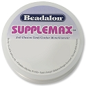 SuppleMax Bead Cord .25mm 164 ft. Black