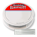 Elasticity Stringing Cord 1mm Satin Silver (5 meters)