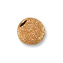 Stardust Bead 4mm Rose Gold Filled (1-Pc)