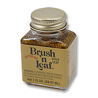 Brush 'n Leaf Liquid Metallic Gold Leaf