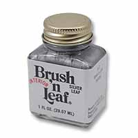 Brush 'n Leaf Liquid Metallic Silver Leaf
