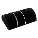 Jewelry Display Hump for Bracelets Black 8
