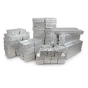 Jewelry Boxes Assortment Silver (100-Pcs)