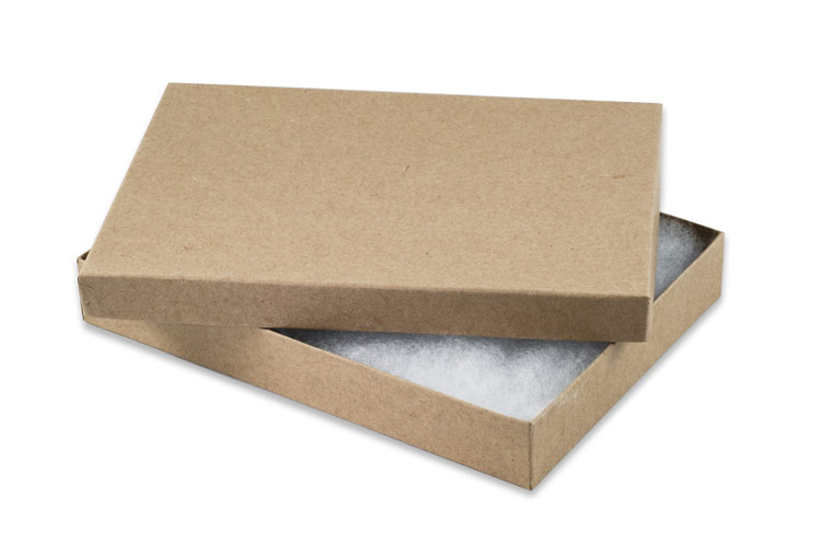 kraft paper boxes Natural kraft jewelry boxes easily and quickly print your name and art on some of these jewelry boxes compose your art online now in paper.