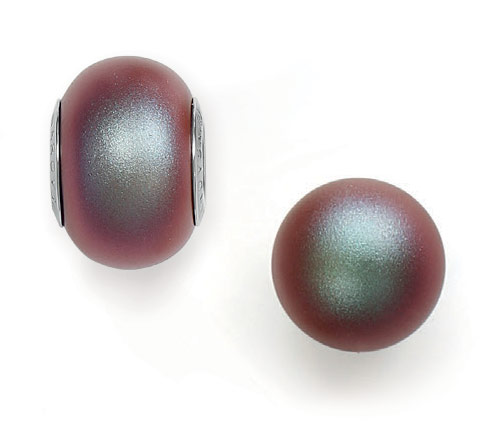 Crystal Iridescent Red Pearl