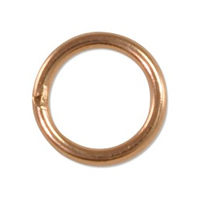 Rose Gold Filled Jump Rings