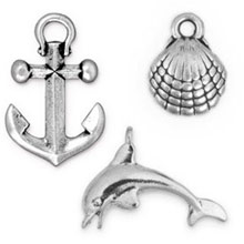 Ocean and Nautical Charms
