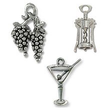 Wine and Cocktail Charms