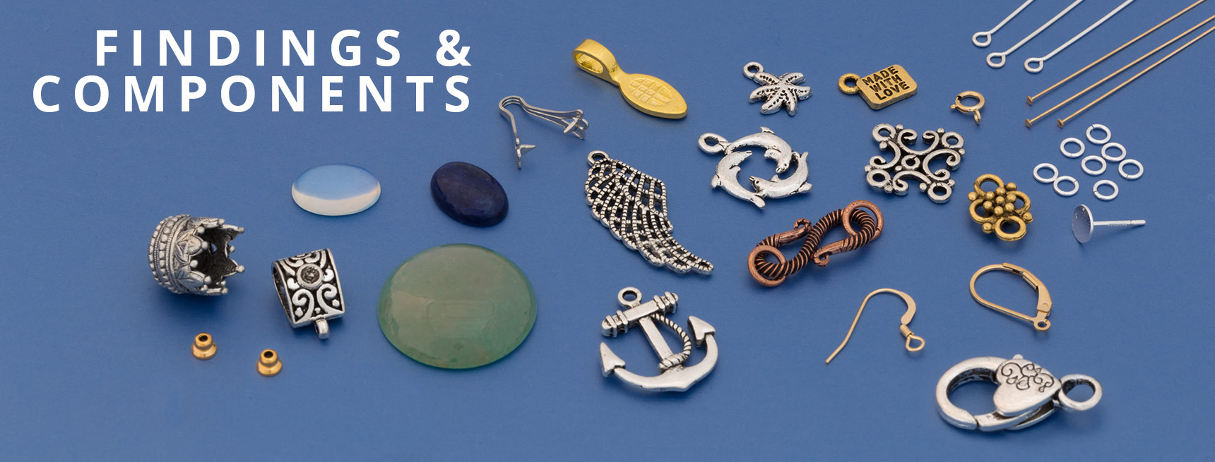 Shop for Findings & Components for Jewelry Making