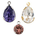 Swarovski Crystal Fancy Stone Drops