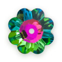 Swarovski Crystal Daisy Spacer Margarita Beads 3700