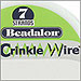 Bright Silver Crinkle Wire