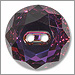 Swarovski Crystal Round Faceted Button 3014