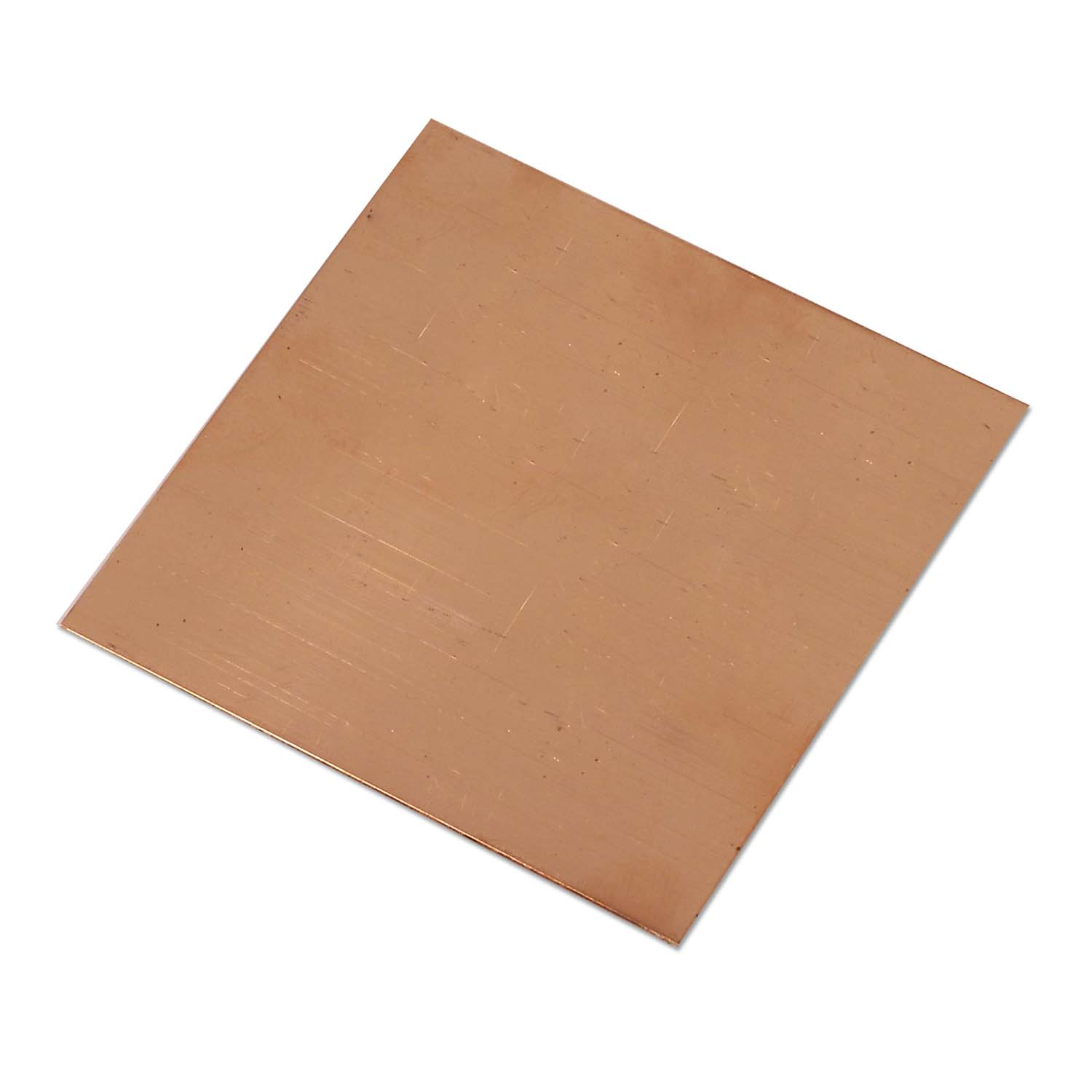 Copper Sheet 22 Gauge Size 3x3 Inch Jewelry Making Sheet