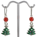 Christmas Trees Earring Project