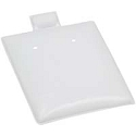 Earring Puff Pads - White 1.5