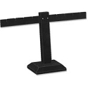 Black Earring Stand T-Bar 4-Pairs