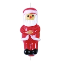 Lampwork Glass Santa Claus Bead 27x12mm (1-Pc)