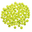 Glass Round Bead 4mm Peridot (100-Pcs)
