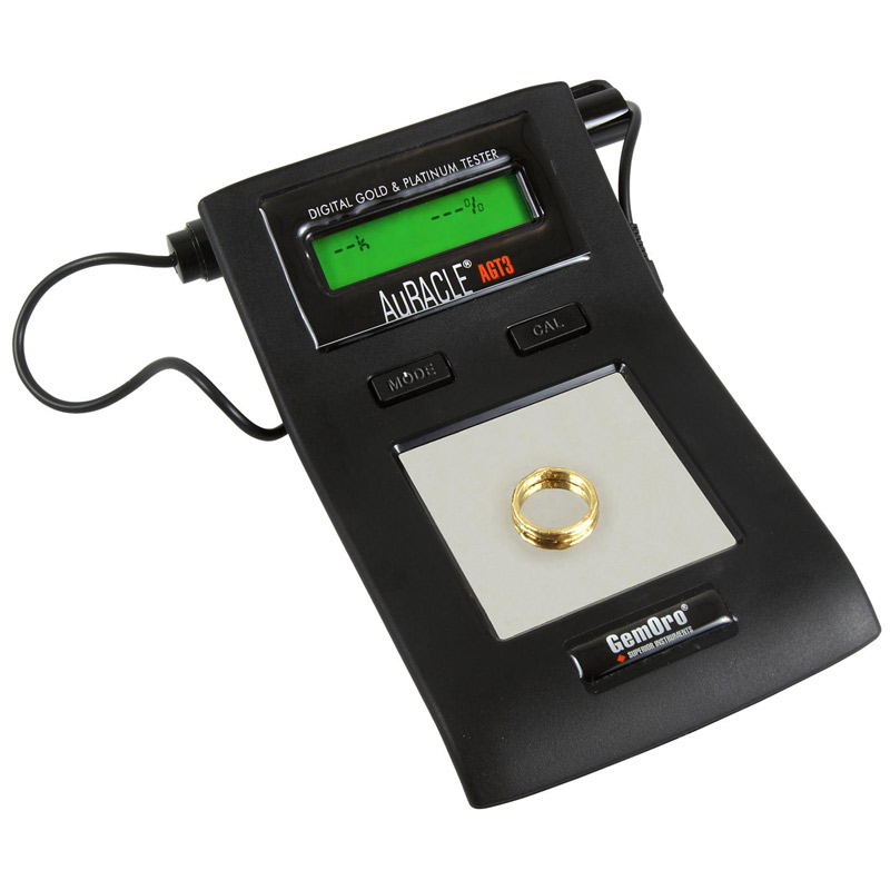 Gold Jewelry Tester : Digital gold and platinum tester auracle agt by gemoro