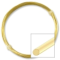 German Style Gold Color Round Wire 22ga