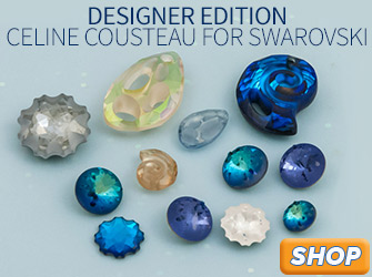 Shop Designer Edition Crystals by Celine Cousteau for Swarovski