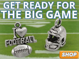 Shop for Football and Sports Charms