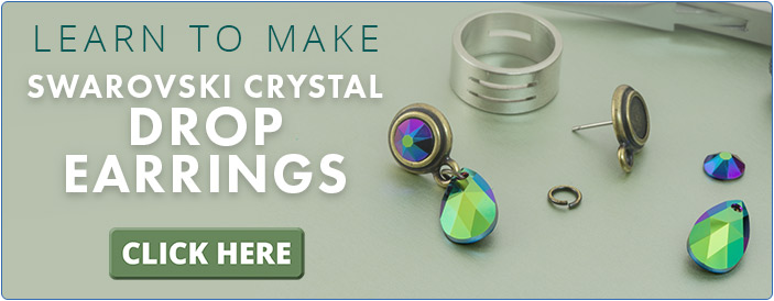 Learn to Make Swarovski Crystal Drop Earrings