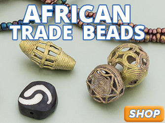 New African Trade Beads are available now at JewelrySupply.com
