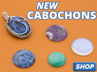 Shop Cabochons for Wire Wrapping and Pendant Projects