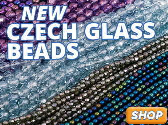 New Czech Glass Beads are available now at JewelrySupply.com