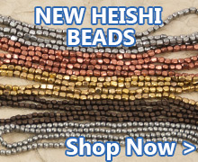 Shop our new Heishi Beads in stock now at JewelrySupply.com