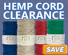 All Hemp Cord is on Clearance at JewelrySupply.com
