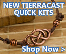 New TierraCast Quick Kits are available at JewelrySupply.com