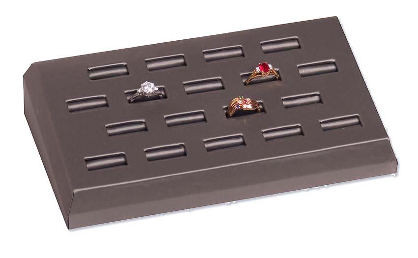 slanted jewelry display tray slanted ring display tray