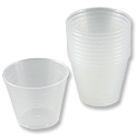 Graduated 1oz. Mixing Cups (10-Pcs)