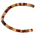 Moukaite 4x3mm Heishi Beads (16