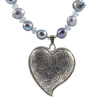 Swirl Heart Necklace Kit