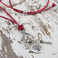 Silver Charm Keeper Necklace