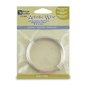 Artistic Wire 16 Gauge Non-Tarnish Silver Plated (10-Ft)