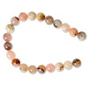 Pink Opal Round Beads 6mm (8
