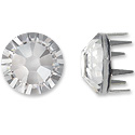 Swarovski Rose Pins 7mm Crystal Stainless Steel (1-Pc)