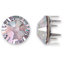 Swarovski Rose Pins 7mm Crystal AB Stainless Steel (1-Pc)