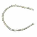 Freshwater Button Pearl White 2.5-3mm (16