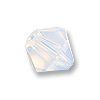 Swarovski 5328 3mm White Opal Bicone Bead (10-Pcs)