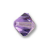 Swarovski 5328 3mm Tanzanite Bicone Bead (10-Pcs)