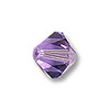 Swarovski 5328 2.5mm Tanzanite Bicone Bead (10-Pcs)