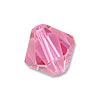 Swarovski 5328 2.5mm Rose Bicone Bead (10-Pcs)
