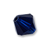 Swarovski 5328 4mm Dark Indigo Bicone Bead (10-Pcs)